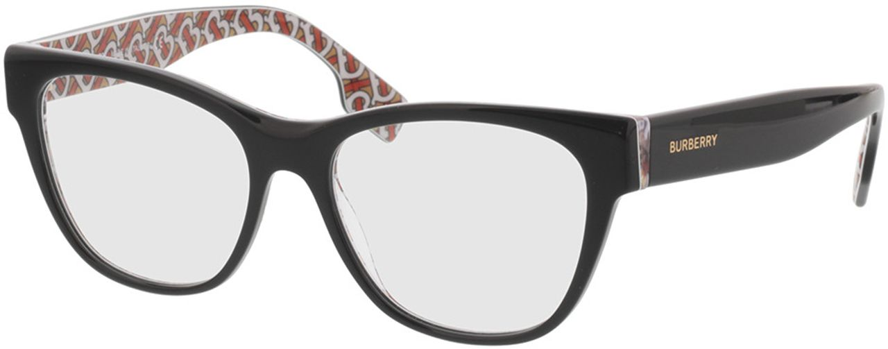 Picture of glasses model Burberry BE2301 3822 53-16 in angle 330