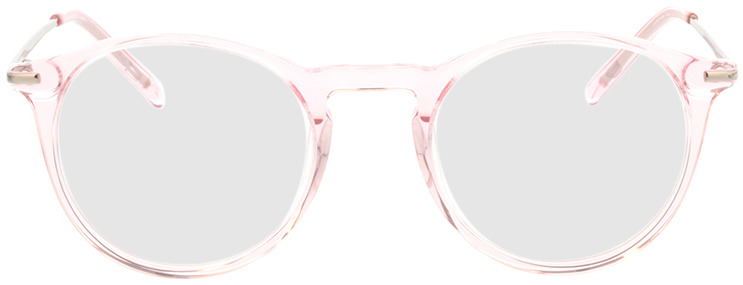 Picture of glasses model Laos roos transparant in angle 0
