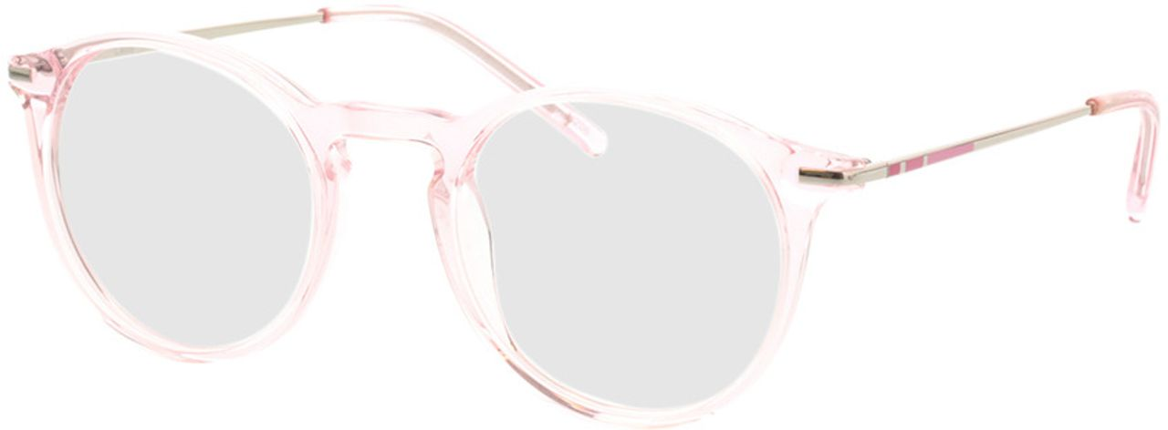 Picture of glasses model Laos-pink-transparent in angle 330