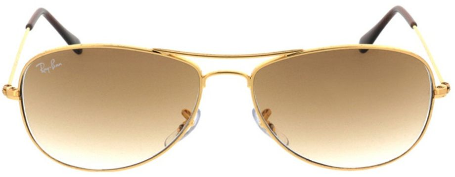 Picture of glasses model Ray-Ban Cockpit RB3362 001/51 56-14 in angle 0
