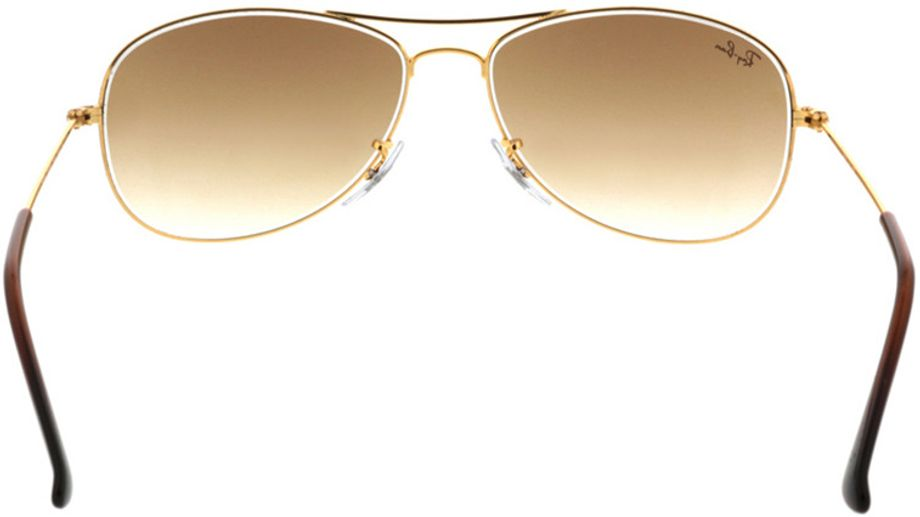 Picture of glasses model Ray-Ban Cockpit RB3362 001/51 56-14 in angle 180