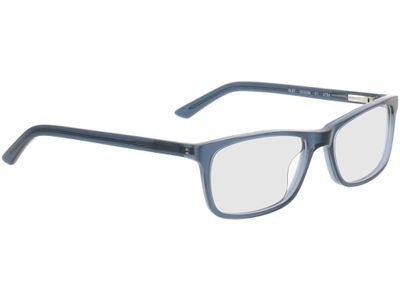 Brille Malton-blau-transparent