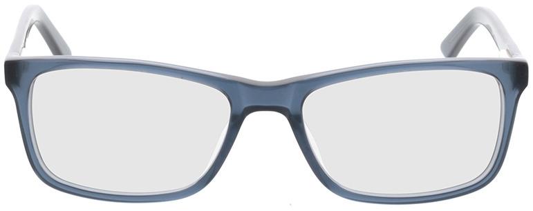 Picture of glasses model Malton-azul-transparente in angle 0