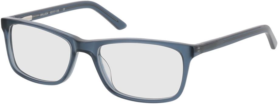 Picture of glasses model Malton-azul-transparente in angle 330