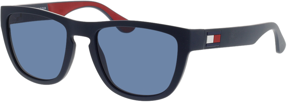 Picture of glasses model Tommy Hilfiger TH 1557/S 8RU 52-19 in angle 330
