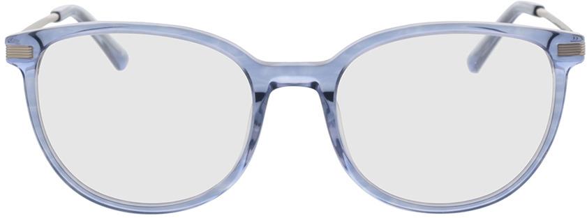 Picture of glasses model Alia-blau-transparent in angle 0