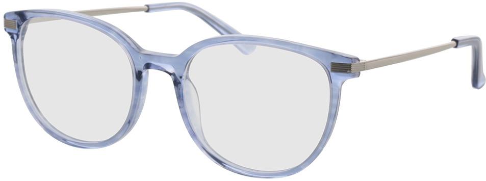 Picture of glasses model Alia-blau-transparent in angle 330
