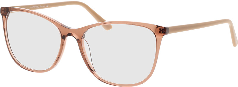 Picture of glasses model Comma, 70081 66 brown 53-16 in angle 330