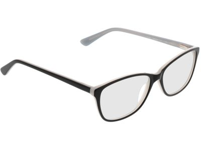 Brille Patna-schwarz/hellblau