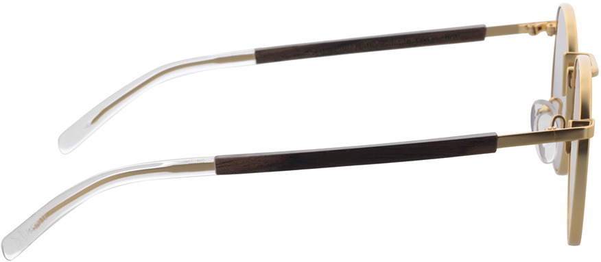 Picture of glasses model TAKE A SHOT Tracy: Walnussholz Walnut in angle 90