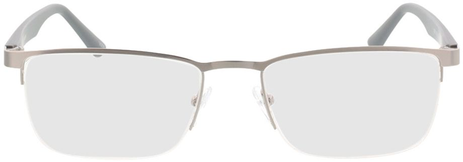 Picture of glasses model Naxos-matt silber/grau in angle 0