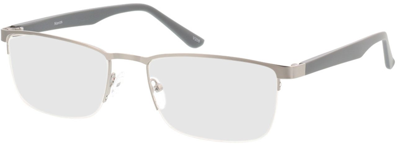 Picture of glasses model Naxos-matt silber/grau in angle 330
