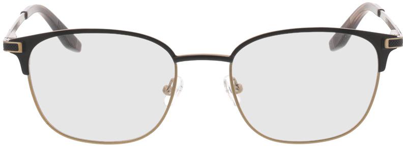 Picture of glasses model Nerio-matt schwarz matt bronze in angle 0