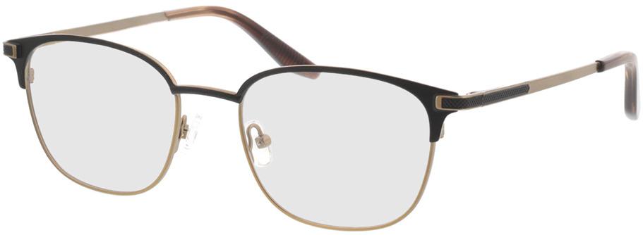 Picture of glasses model Nerio-matt schwarz matt bronze in angle 330