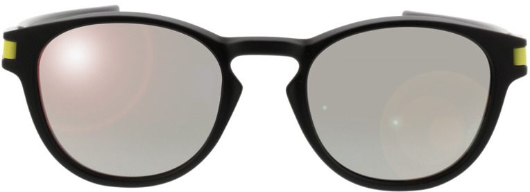 Picture of glasses model Oakley Latch OO9265 21 53-21 in angle 0