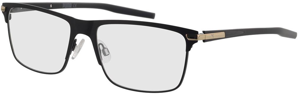 Picture of glasses model Puma PU0276O-001 58-17 in angle 330