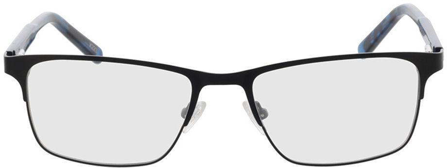 Picture of glasses model Sherman-schwarz/blau-meliert in angle 0