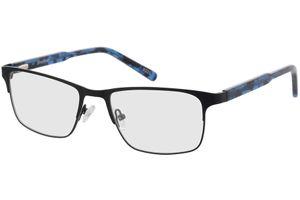 Sherman-schwarz/blau-meliert
