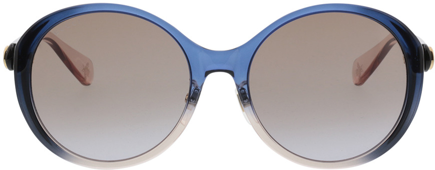 Picture of glasses model Gucci GG0370SK-004 56-19 in angle 0
