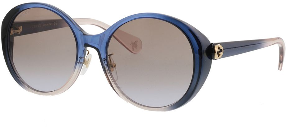 Picture of glasses model Gucci GG0370SK-004 56-19 in angle 330