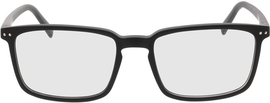 Picture of glasses model Salix-schwarz in angle 0