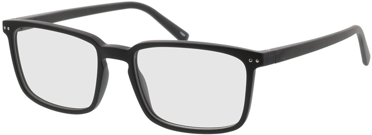 Picture of glasses model Salix-schwarz in angle 330