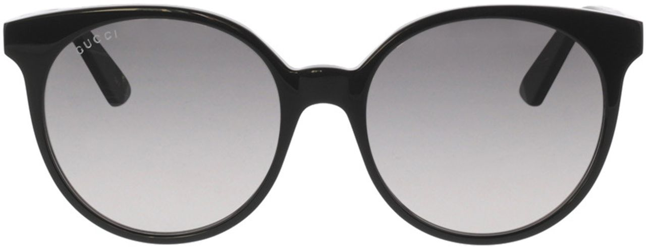 Picture of glasses model Gucci GG0488S-001 54-18 in angle 0