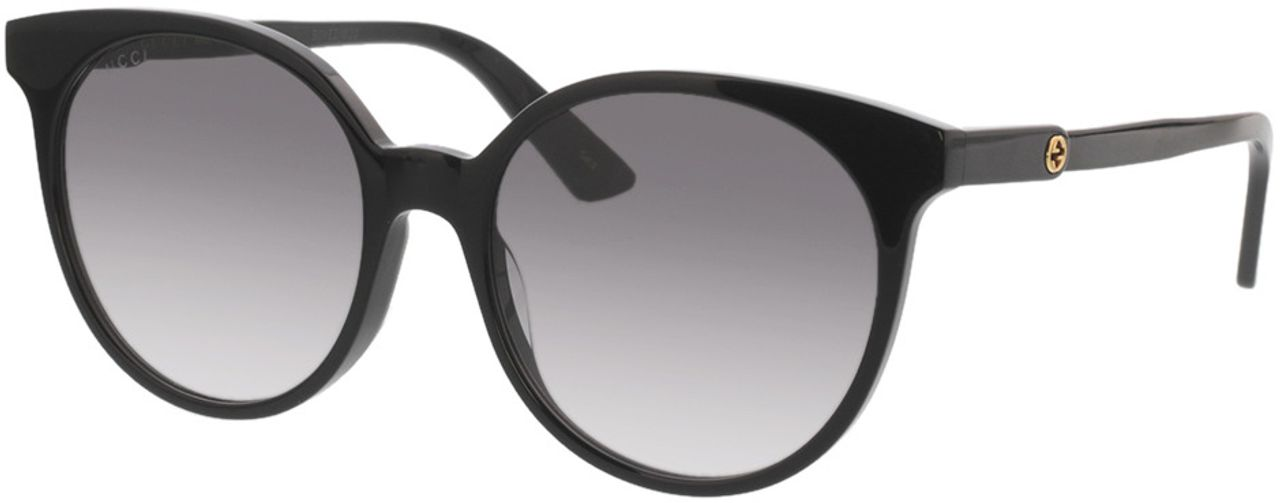 Picture of glasses model Gucci GG0488S-001 54-18 in angle 330