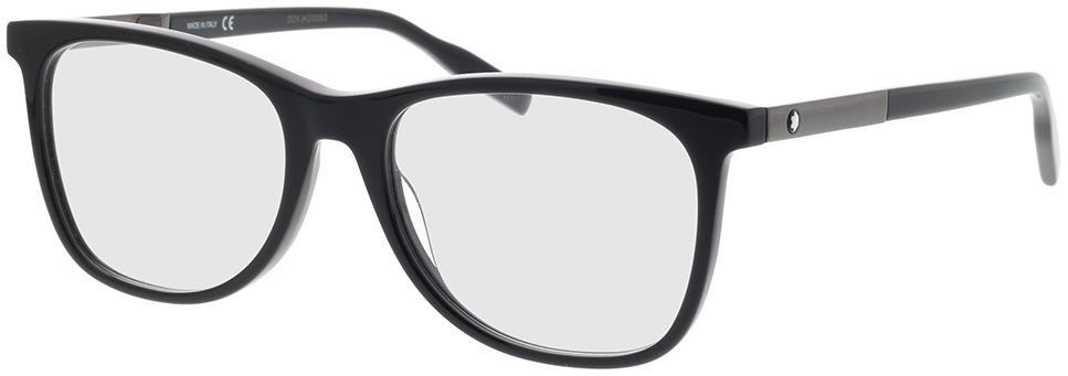 Picture of glasses model Montblanc MB0057O-005 55-18 in angle 330