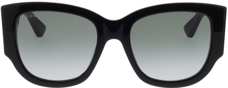 Picture of glasses model Gucci GG0276S-001 53-20 in angle 0