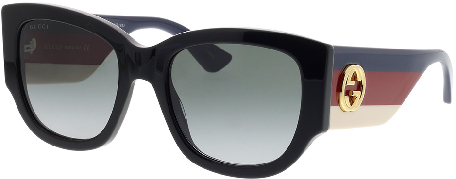 Picture of glasses model Gucci GG0276S-001 53-20 in angle 330