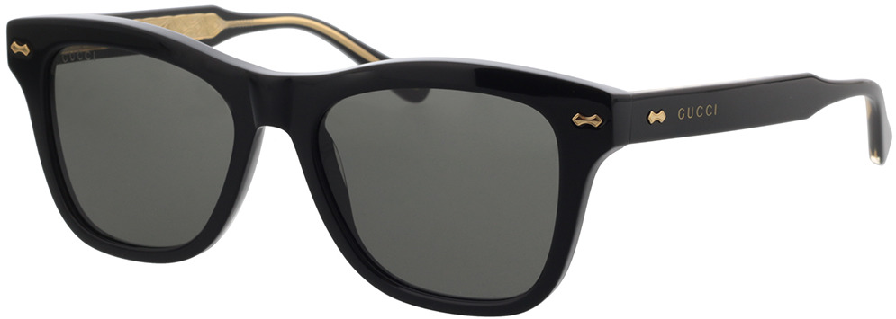 Picture of glasses model Gucci GG0910S-001 53-17 in angle 330