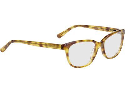 Brille Paisley-braun-gelb-meliert