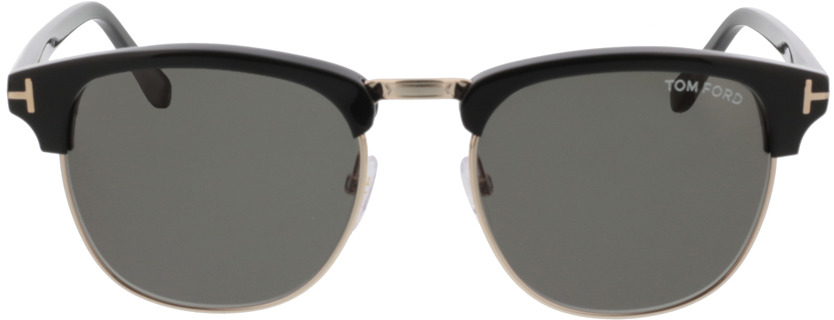 Picture of glasses model Tom Ford Henry FT0248 05N 53-20 in angle 0