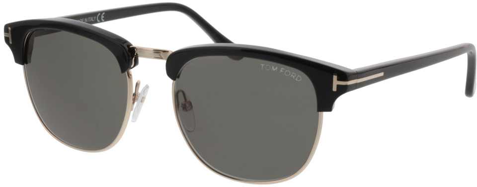 Picture of glasses model Tom Ford Henry FT0248 05N 53-20 in angle 330