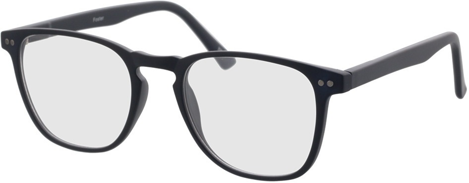 Picture of glasses model Foster-dunkelblau in angle 330