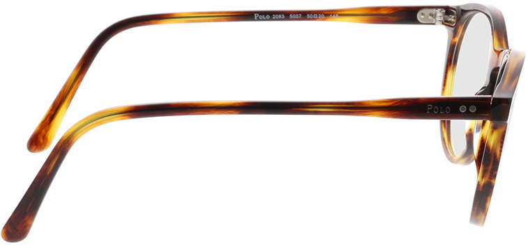 Picture of glasses model Polo Ralph Lauren PH2083 5007 50-20 in angle 90