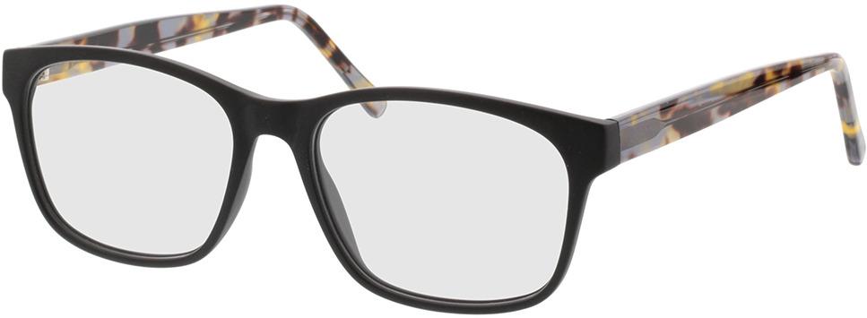 Picture of glasses model Nautica Mat zwart in angle 330