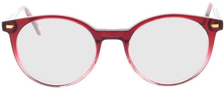 Picture of glasses model Bonnie-rot-verlauf in angle 0