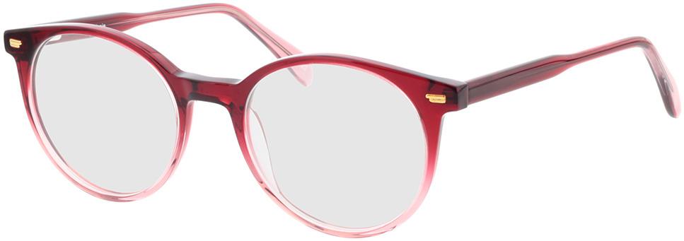 Picture of glasses model Bonnie-rot-verlauf in angle 330