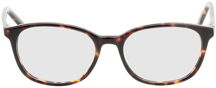 Picture of glasses model Bremen brun marbré in angle 0