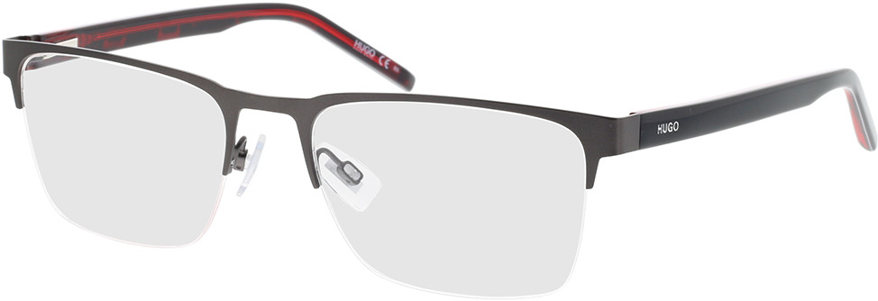 Picture of glasses model Hugo HG 1076 R80 56-19 in angle 330