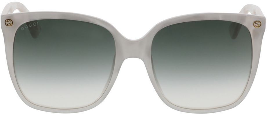 Picture of glasses model Gucci GG0022S-004 57-18 in angle 0