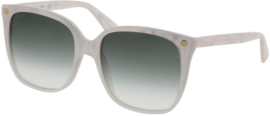 Picture of glasses model Gucci GG0022S-004 57-18 in angle 330