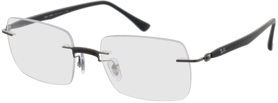 Picture of glasses model Ray-Ban RX8767 1230 53-18 in angle 330