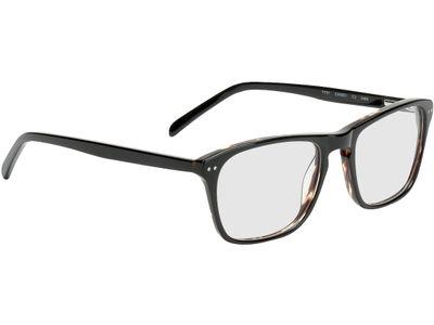 Brille Imola-schwarz/braun-meliert