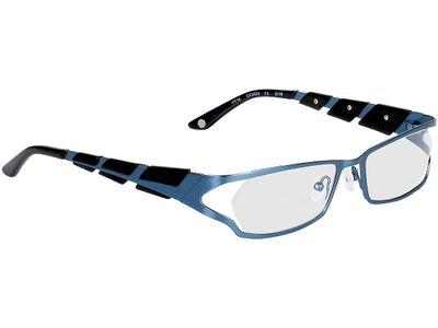 Brille Padua-blau/schwarz