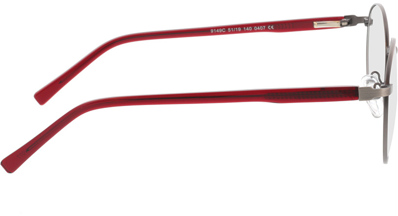 Picture of glasses model Lino-anthrazit  in angle 90