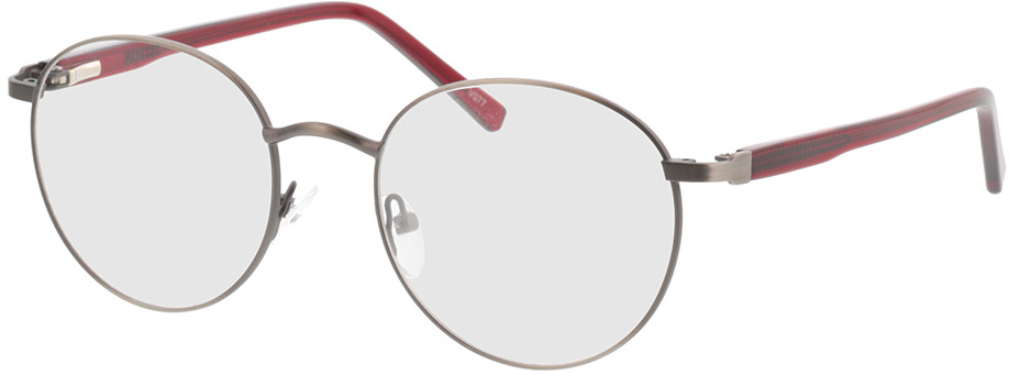 Picture of glasses model Lino-anthrazit  in angle 330