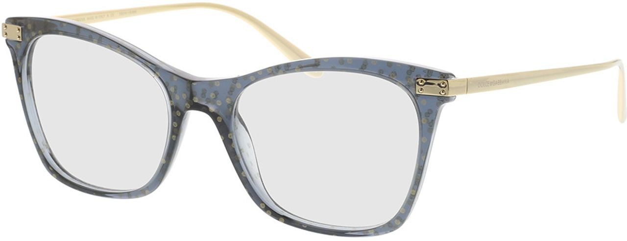 Picture of glasses model Dolce&Gabbana DG3331 3210 52-18 in angle 330